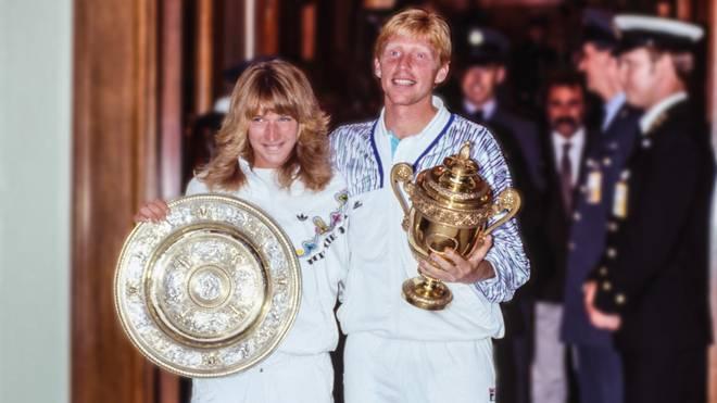 1989 feierten Steffi Graf und Boris Becker ein deutsches Tennis-Märchen in Wimbledon