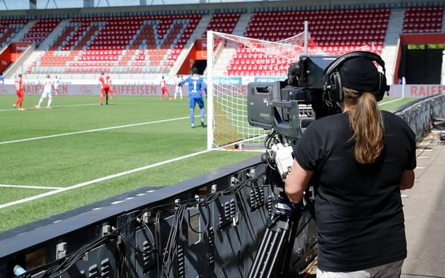 Im Schweizer Fußball wird man dem Coronavirus nicht Herr