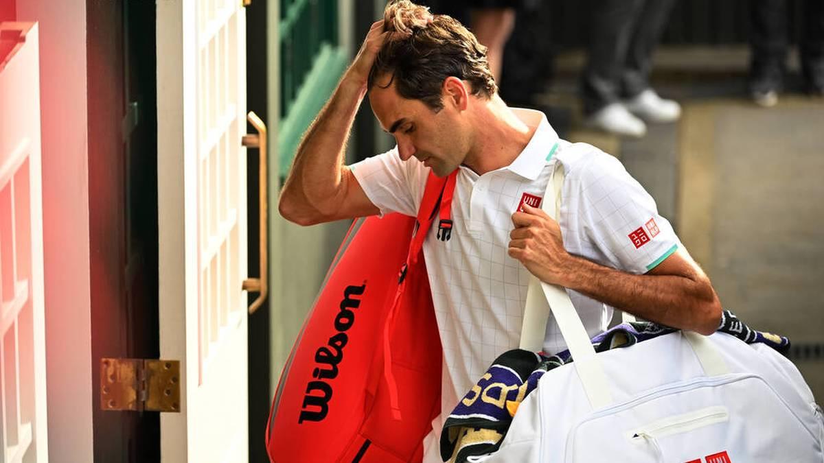 Roger Federer hat nach seinem Viertelfinal-Aus in Wimbledon kein Match mehr bestritten