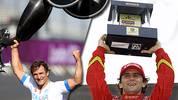 """Alessandro """"Alex"""" Zanardi ist vielleicht nicht der beste Rennfahrer der Geschichte. Dennoch ist seine Karriere einzigartig und an Auf und Abs nicht zu überbieten - das aktuelle Highlight ist das Absolvieren des Ironman auf Hawaii. SPORT1 blickt auf die Laufbahn des Italieners zurück"""