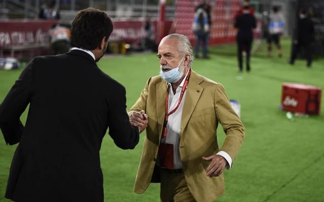 Aurelio De Laurentiis ist vor kurzem an Corona erkrankt