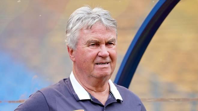 Guus Hiddink ist wieder zurück in Eindhoven