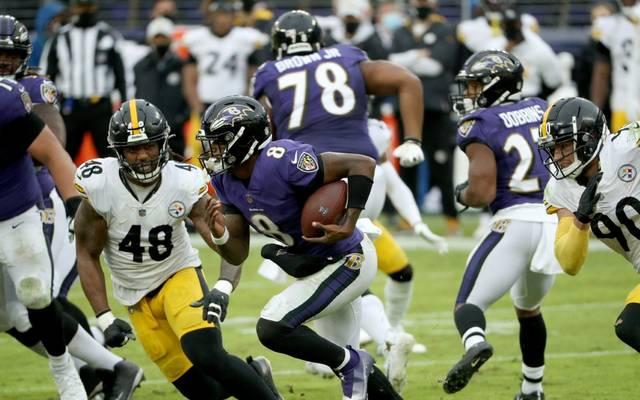 Die Partie der Pittsburg Steelers gegen die Baltimore Ravens wurde von Donnerstag auf Sonntag verschoben