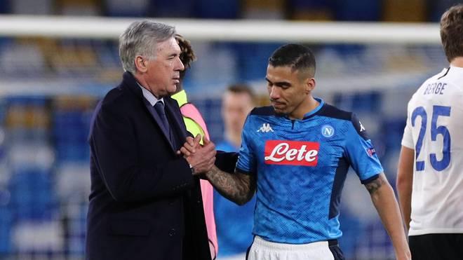 Allan (r.) kehrt zu seinem Förderer Carlo Ancelotti zurück