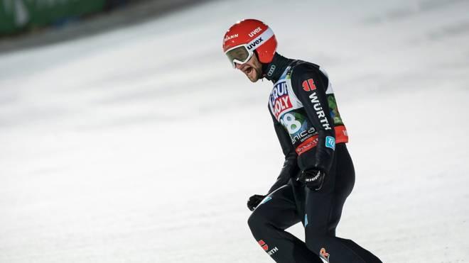 Eisenbichler sichert sich den zweiten Platz in Engelberg
