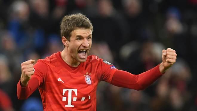 Thomas Müller und der FC Bayern gewannen alle Spiele der Gruppenphase