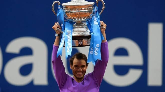87. Titelgewinn: Rafael Nadal feiert auch in Barcelona