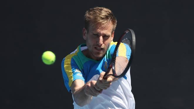 Tennis, ATP: Peter Gojowczyk erreicht Achtelfinale in Marseille, Peter Gojowczyk besiegte in Marseille den Bosnier Damir Dzumhur