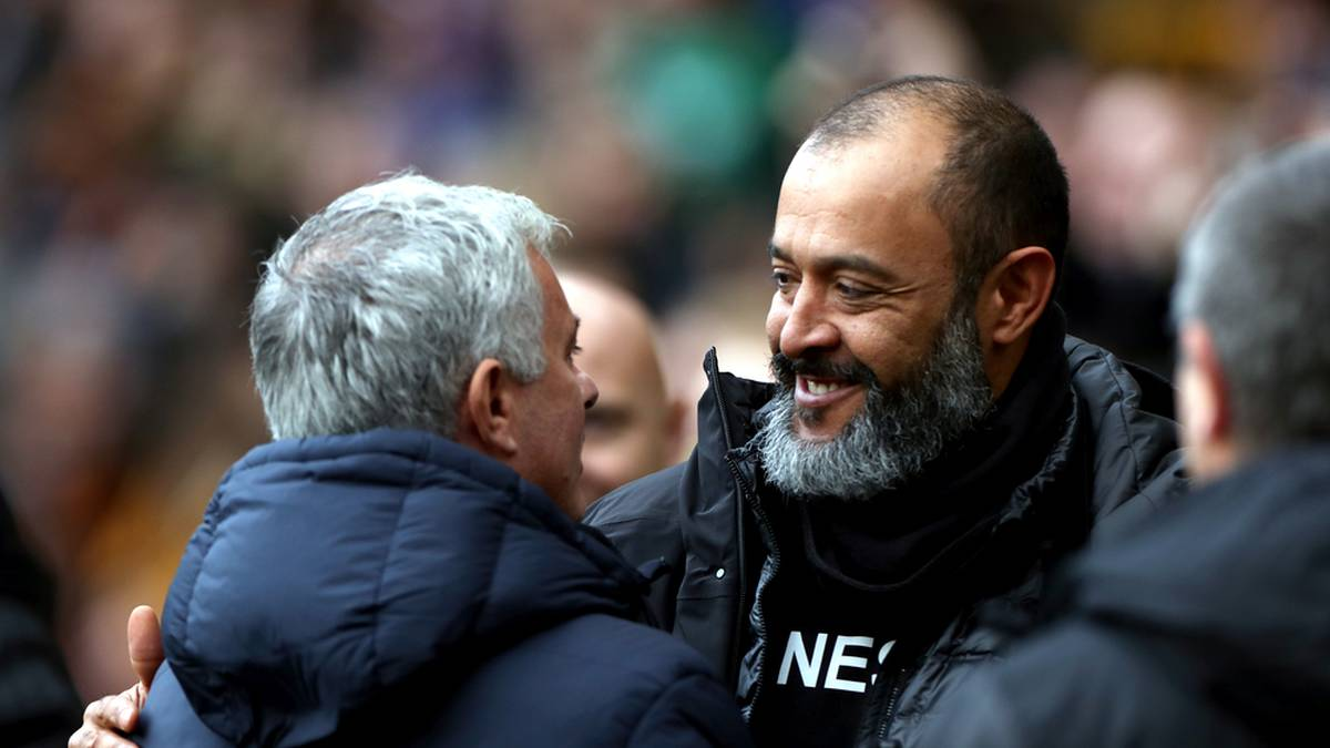 Eine besondere Beziehung: José Mourinho und Nuno Espirito Santo