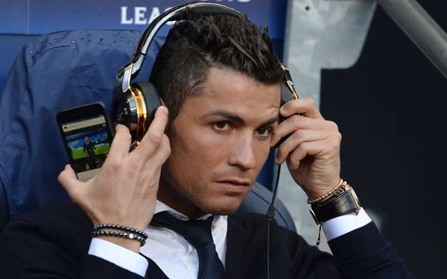 Cristiano Ronaldo konnte in Manchester nicht spielen