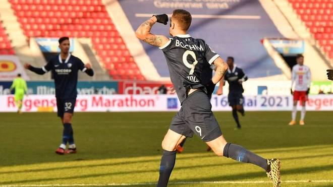 Simon Zoller erzielte den entscheidenden Treffer gegen Regensburg