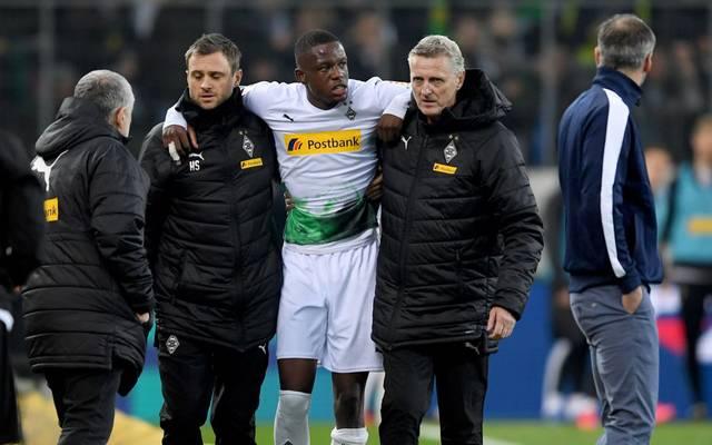 Denis Zakaria verletzte sich beim 1:2 der Gladbacher gegen den BVB
