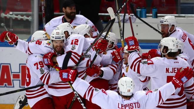 Nach sechs Stunden gingen die Helsinki-Spieler als Sieger vom Platz