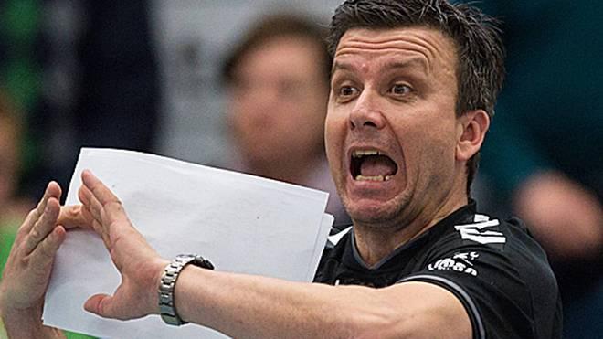 Trainer Alexander Waibl ist Trainer des Dresdner SC