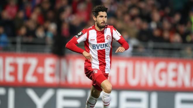 Fabio Kaufmann traf für Würzburg gegen Großaspach doppelt