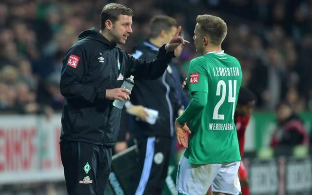 Trainer Florian Kohfeldt steht mit Werder Bremen unter Druck