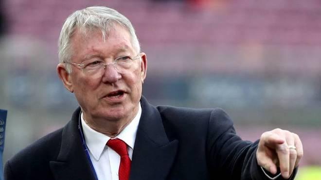 Sir Alex Ferguson war 26 Jahre lang Trainer von Manchester United