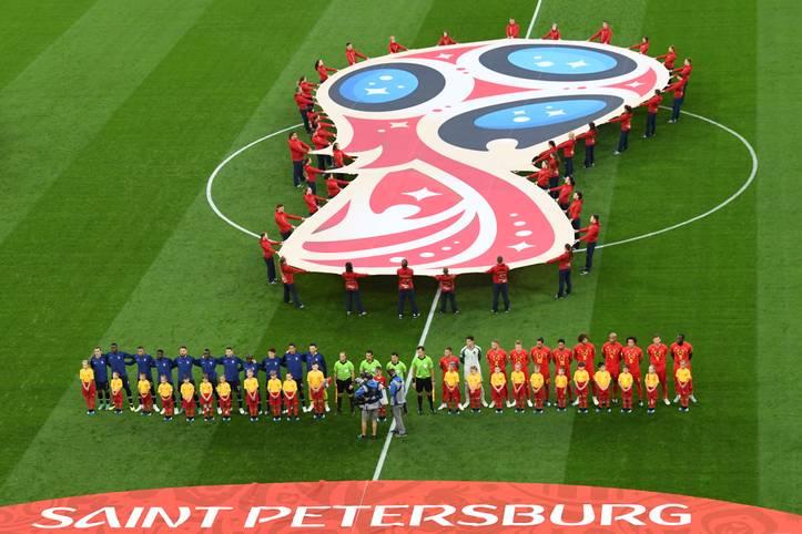 Frankreich und Belgien liefern sich einen packenden Kampf um den Einzug ins WM-Finale. Wieder entscheidet ein Standard. Samuel Umtiti wird mit seinem Kopfballtor zum 1:0 zum Helden. Belgiens Offensive bleibt blass. Die SPORT1-Einzelkritik.