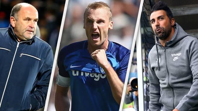 Chaos beim VfL Bochum: Ismail Atalan (r.) ist gefeuert, Felix Bastians (M.) suspendiert, Christian Hochstätter (l.) steht in der Kritik