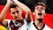 Miroslav Klose beendet seine Karriere in der Nationalmannschaft. SPORT1 zeigt seine Karriere in Bildern