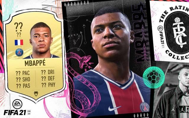 Kylian Mbappé ist der Coverstar des neuen FIFA 21