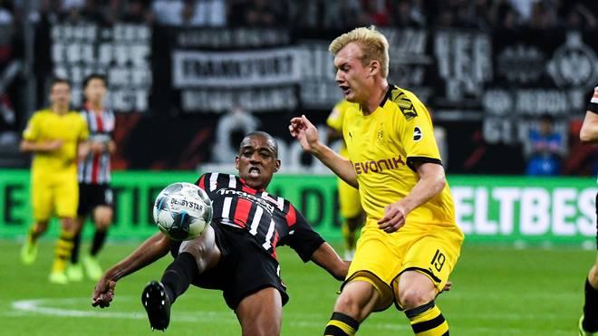 Gelson Fernandes (l.) spielte zuletzt für Eintracht Frankfurt