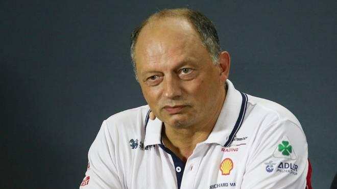 Teamchef Frederic Vasseur fehlt Alfa Romeo beim F1-Test