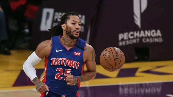 Derrick Rose wechselt offenbar von den Detroit Pistons zu den New York Knicks