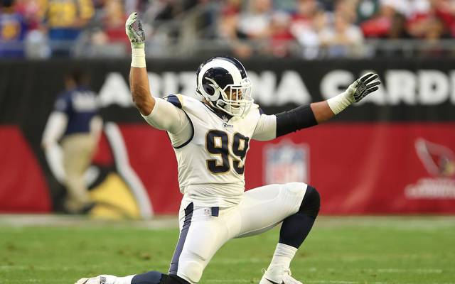 Aaron Donald wurde mit einem NFL-Award ausgezeichnet