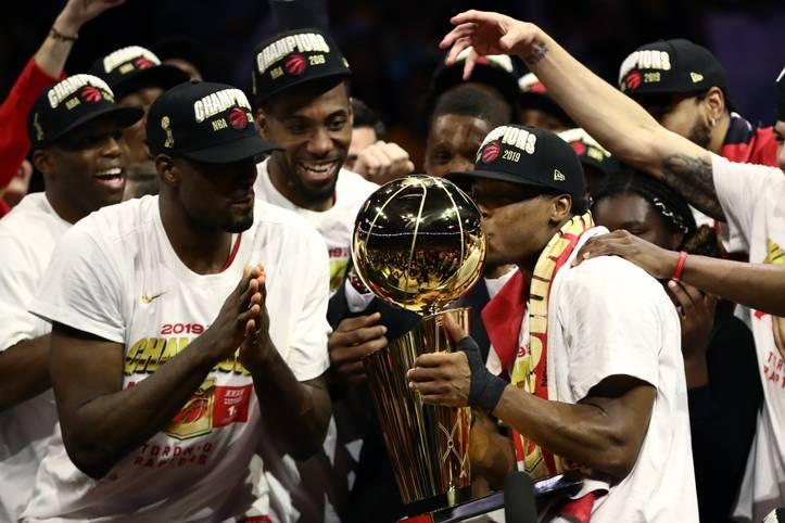 Die Toronto Raptors sind am Ziel angekommen. Zum ersten Mal in der Geschichte sichert sich die Franchise aus Kanada den Titel in der NBA. In der Finalserie gegen Titelverteidiger Golden State Warriors setzen sich die Raptors mit 4:2 durch
