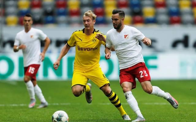 Julian Brandt (l.) wechselte 2019 von Bayer Leverkusen zum BVB