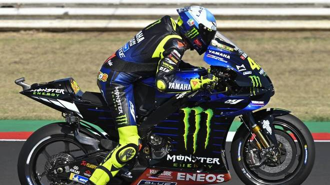 Valentino Rossi verpasst das Podium knapp