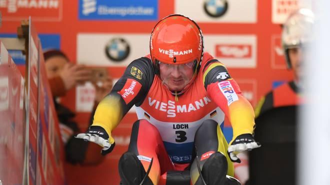 Felix Loch war mit dem ersten Rennen des Weltcup-Winters nicht zufrieden