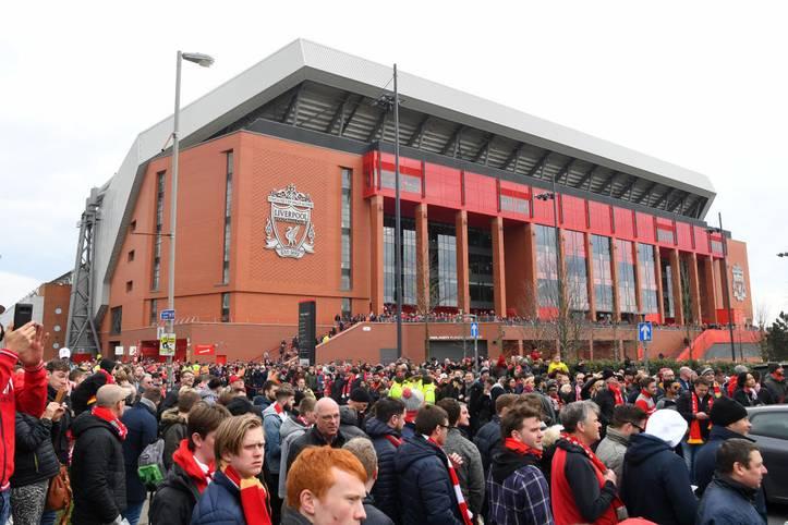 Das Stadion an der Anfield Road in Liverpool ist für Fans eines der ehrwürdigsten der Welt. Nun soll es ausgebaut werden. Der FC Liverpool hat seine Pläne für eine Vergrößerung veröffentlicht