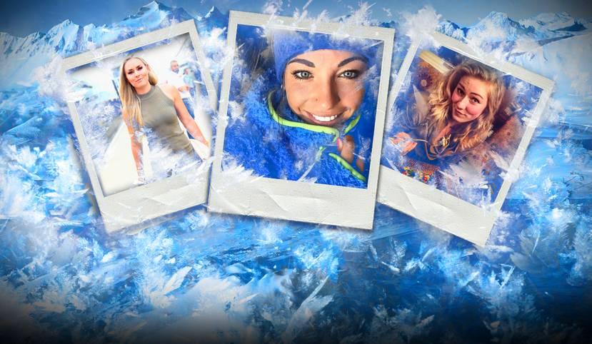 Lindsey Vonn sorgt mit einem Fotoshooting für Aufsehen, Mikaela Shiffrin ist zurück. Der Winter hat optisch viel zu bieten. SPORT1 zeigt Schönheiten auf Schnee und Eis.