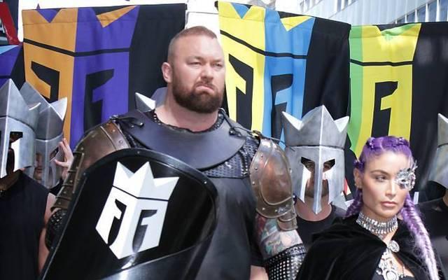 Thor Björnsson gibt sein Boxdebüt in Dubai