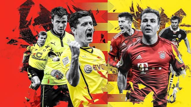 Überläufer zwischen Bayern und Dortmund