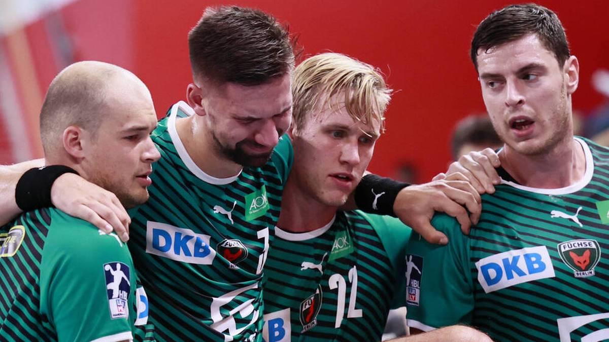 Die Füchse Berlin bangen um Fabian Wiede