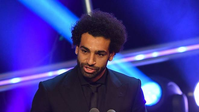 Liverpool-Star Mohamed Salah darf sich über den Preis für das beste Tor des Jahres freuen