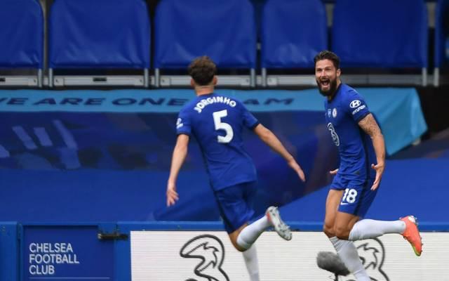 Olivier Giroud traf beim 2:0-Sieg des FC Chelsea gegen Wolverhampton