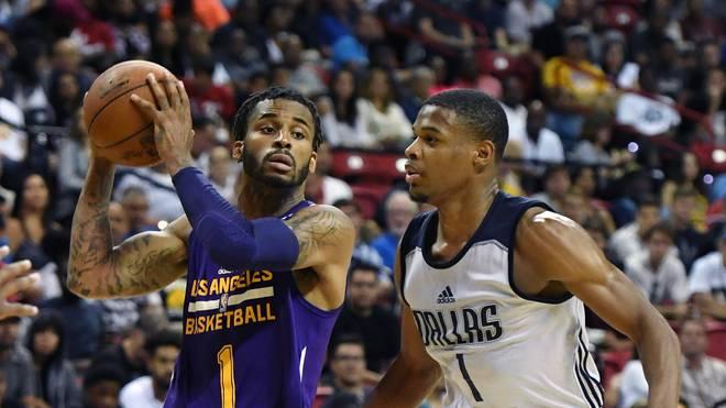 2017 Las Vegas Summer League Los Angeles Lakers v Dallas Mavericks