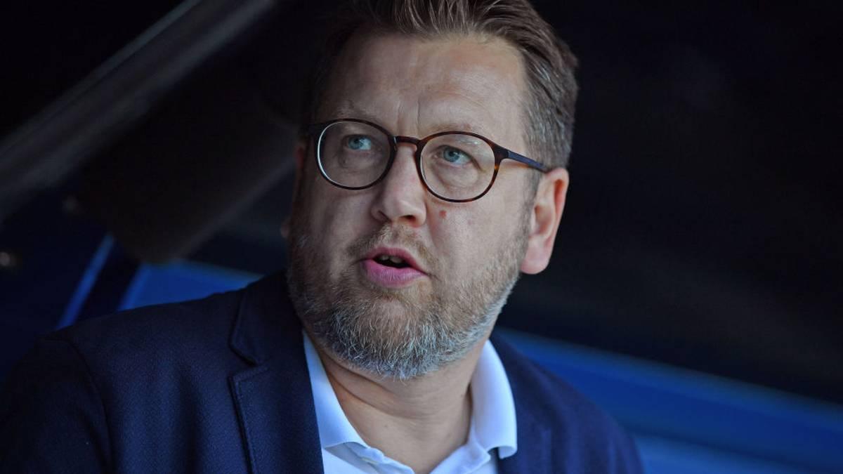 Martin Przondziono muss beim SC Paderborn seinen Hut nehmen
