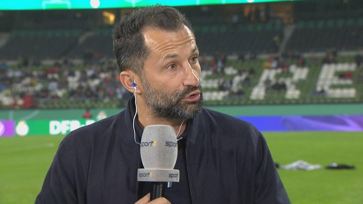 Vor dem Pokalspiel beim Bremer SV äußert sich Hasan Salihamidzic zu den Pfiffen gegen Leroy Sané. Bayerns Sportvorstand kritisiert das Verhalten der FCB-Fans.
