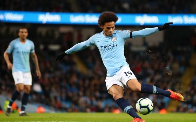 Leroy Sané, Manchester City, ManCity