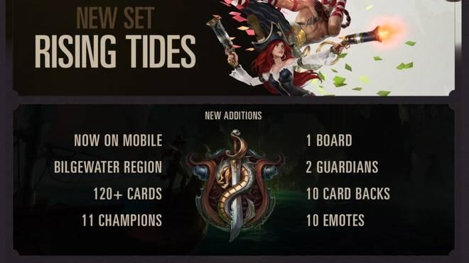 Die neuen Inhalte von Legends of Runeterra zum Launch