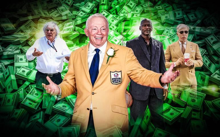 """Viele wohlhabende Menschen investieren gerne in Sport-Mannschaften. Hier ist die Top 20 der reichsten Persönlichkeiten aus der Welt des Sports. Aufgelistet sind allerdings nur Eigentümer von Teams, Serien oder Ligen. Die Liste stammt vomn US-Wirtschaftsmagazin """"Forbes"""""""