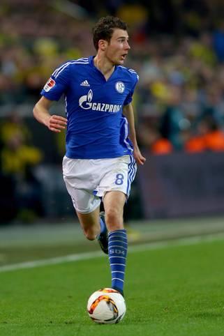 Platz 5: Leon Goretzka (Schalke 04) - 5 Torschüsse im Spiel gegen Hannover 96