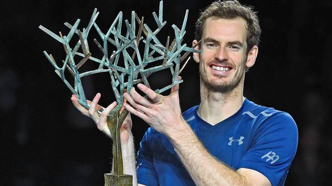 Andy Murray löst am Montag Novak Djokovic als Nummer eins der Weltrangliste ab