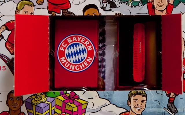 FC-Bayern-Fans finden in diesem Jahr im Adventskalender mitunter Unerwartetes
