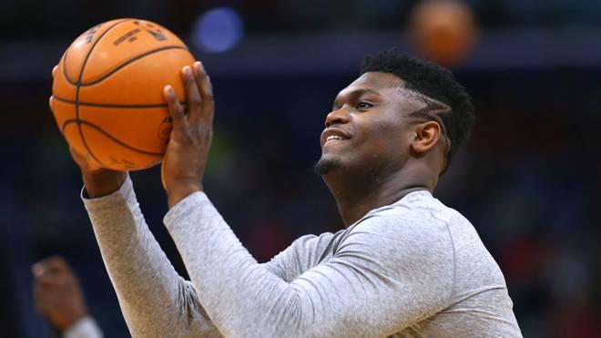 Zion Williamson wurde von den New Orleans Pelicans an Nummer 1 gedraftet